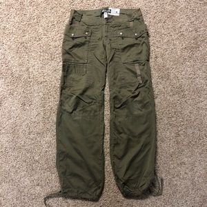 Men's Diesel Military Green Parachute Pants 30/32